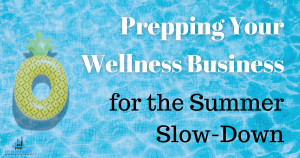 business summer slow-down